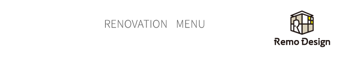 RENOVATION MENU